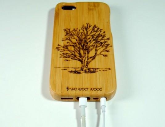 Деревянные чехлы для смартфонов, планшетов и ноутбуков