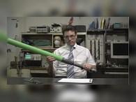 Мягкий меч из пены со счетчиком попаданий