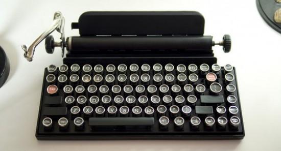 Винтажная клавиатура для ПК и планшетов