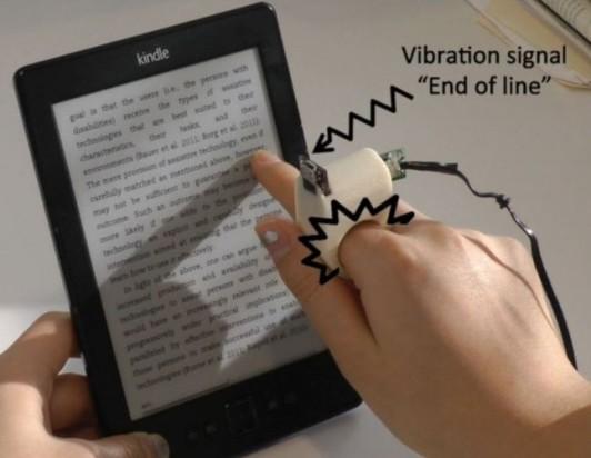 Устройство для чтения для слабовидящих людей