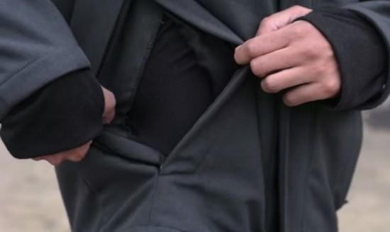 Куртка для защиты от бактерий и вирусов