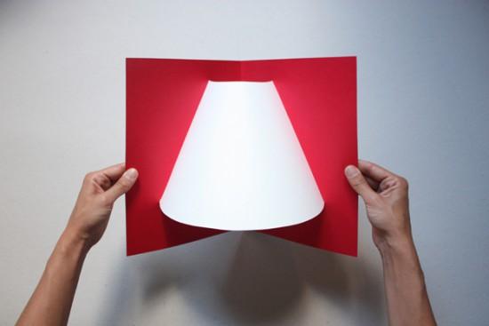 Бумажные светильники ручной работы с доставкой в конверте