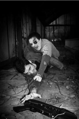 Организация страйкбол квестов с участием зомби