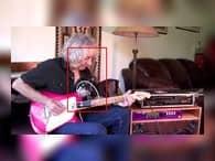 Магнитный держатель смартфонов для обучения игре на гитаре