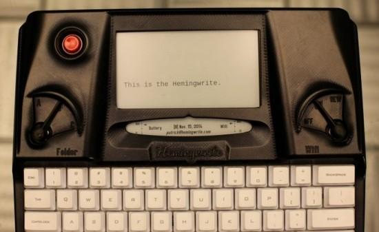 Хеминграйт — устройство для писателей, блоггеров и журналистов