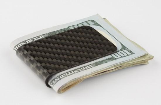 Зажимы для денег из углеродного волокна