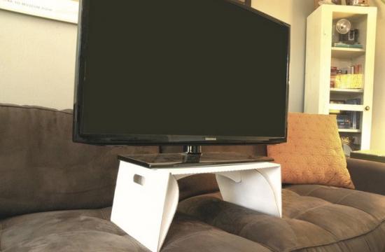 Подставка для ноутбука или планшета из картона