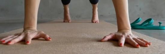 Коврики для йоги из пробки