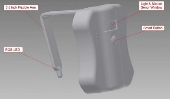 Ночной светильник для унитаза с сенсорным датчиком