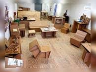 Картонная мебель для детей