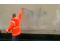 Система реактивной защиты зданий от граффити
