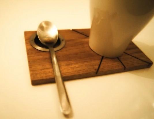 Деревянные подставки для чая и кофе