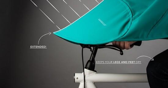 Бончо — пончо для велосипедистов