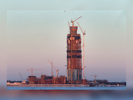 Башня «Лахта центр» в Петербурге претендует на звание самой высокой в Европе