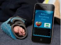 Датчик состояния младенца с трансляцией данных на смартфон