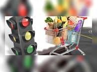 Летом в России начнут маркировку продуктов по принципу «светофор»