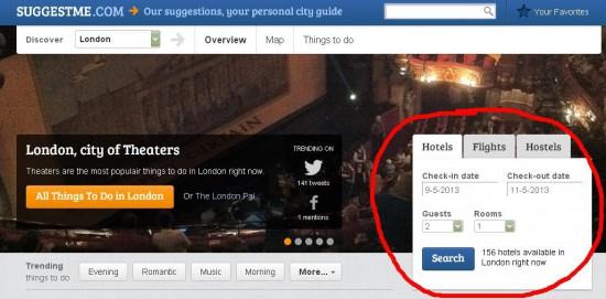 Онлайн-сервис для автоматического создания персонального путеводителя