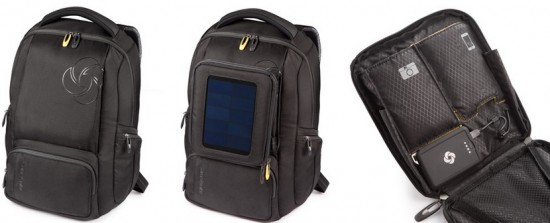Рюкзак с солнечной батареей