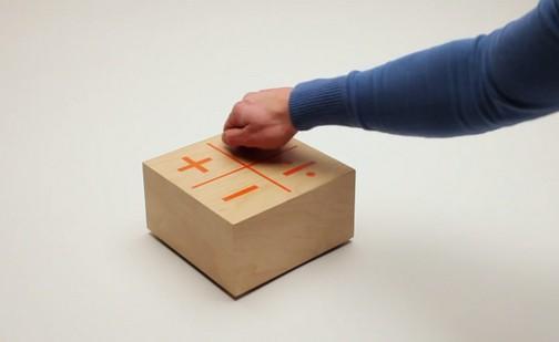 Куб для обучения детей арифметике