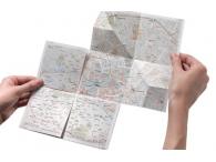 Географическая карта с zoom'ом