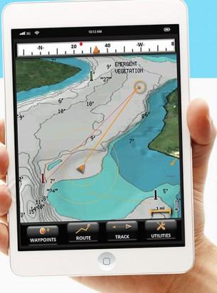 Устройство для поиска рыбы с передачей данных на смартфон