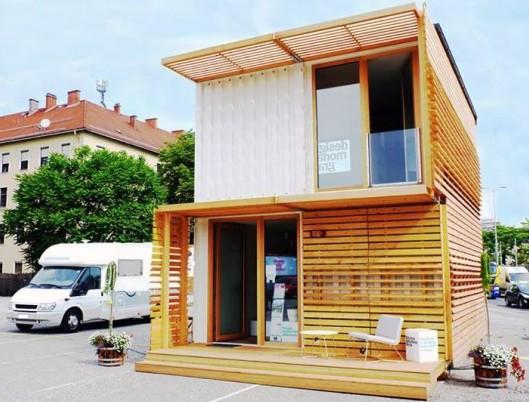 Строительство домов из контейнеров