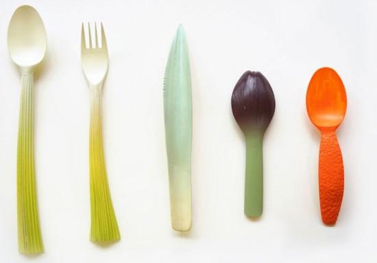 Производство биоразлагаемой одноразовой посуды с помощью 3D-принтера
