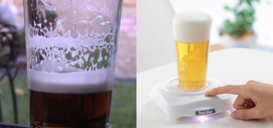 Ультразвуковой пенообразователь для любителей пива