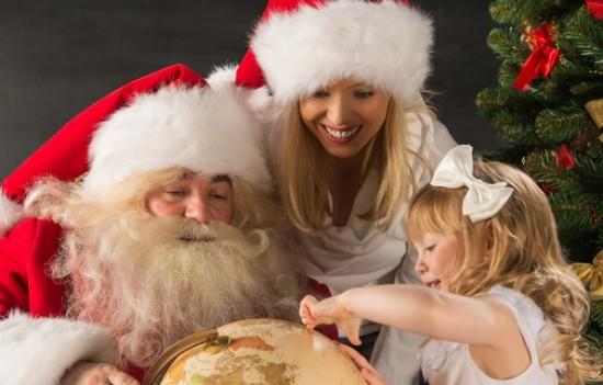 Бизнес: Дед Мороз и Снегурочка