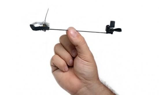 Управляемый бумажный самолет