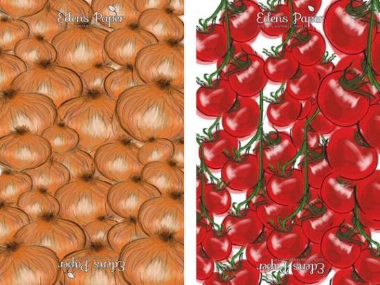 Оберточная бумага с семенами
