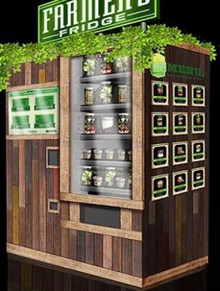 Аппарат по продаже салатов