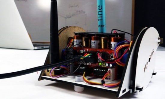 Самодельный Wi-Fi робот Mirobot